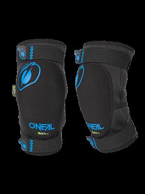ONEAL Dirt térdvédő fekete/kék
