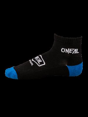 ONEAL Icon Crew zokni fekete/kék