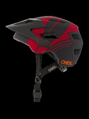 ONEAL Defender Nova fejvédő fekete/ vérnarancs