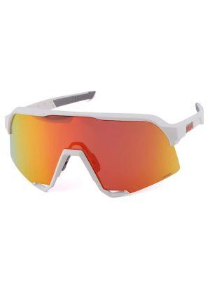 100% S3 Soft Tact White HiPER Red Multilayer Mirror szemüveg