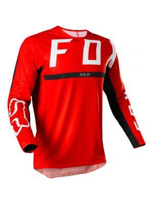 FOX 360 Merz mez fluor piros